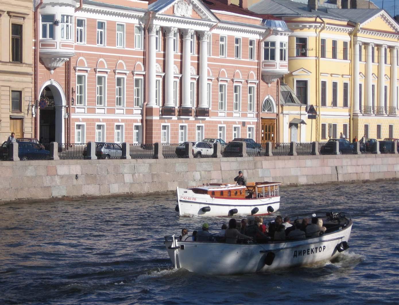 Петербург, река Фонтанка