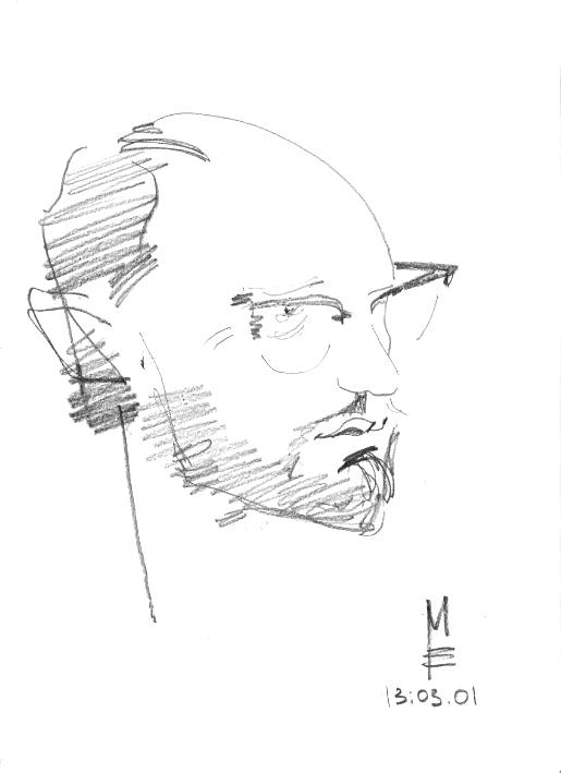 бумага/карандаш, 30х20, 2001