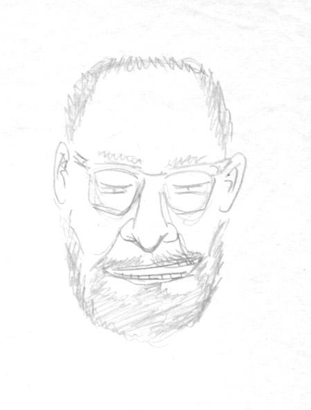 бумага/карандаш, 30х20, 1999