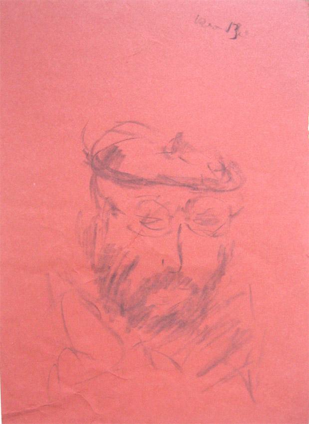 цв.бумага/уголь, 30х20, 1987