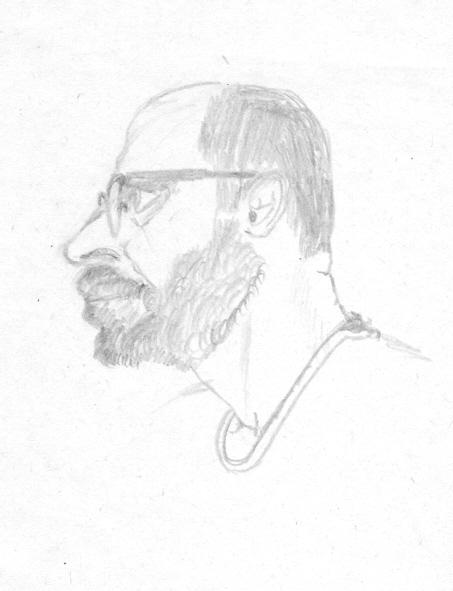 бумага/карандаш, 15х10, 1999
